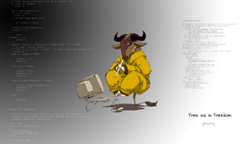 http://earthpod.nu/gnu_wallpaper/wallpaper-7-thumb.png